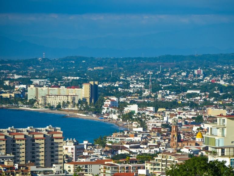 The new downtown in Puerto Vallarta